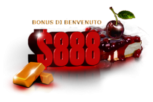Golden Cherry Casino Bonus di Benvenuto